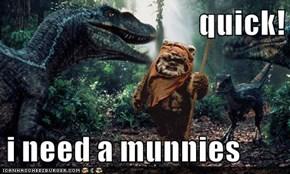 quick!  i need a munnies