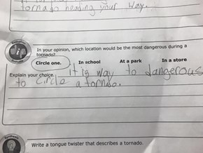 This Kid's Multiple Choice Answer is Hard to Argue With