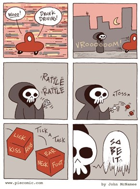 Death is Just a Dice Roll Away