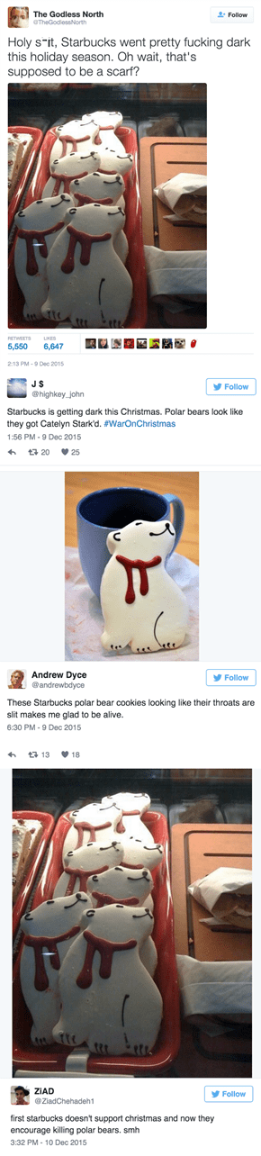 You'll Never See These Starbucks Polar Bear Cookies the Same Again