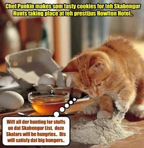 KKPS 2015: Chef Punkin helps owt at teh Skabengur Hunt..