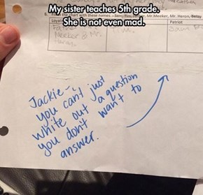 It Was Like That When I Got It, Teach