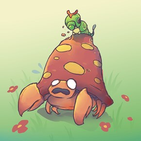 Caterpie Used Nom