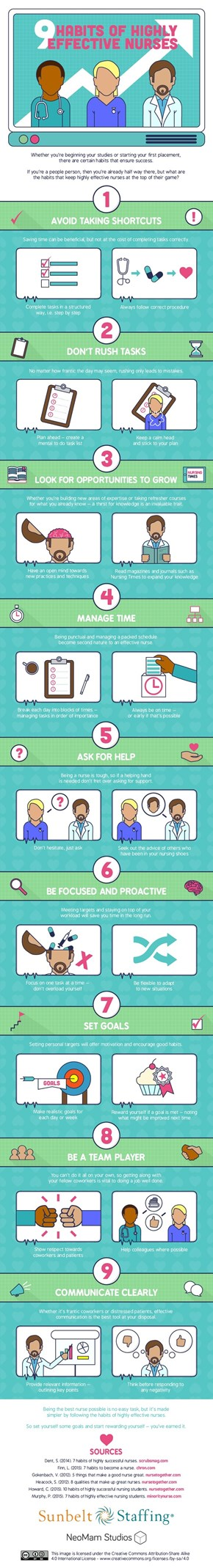 9 Habits of Highly Effective Nurses