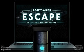 Turn Your Phone Into a Lightsaber and Try to Escape a Star Destroyer in This New Game From Google