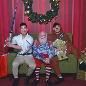 These Guys Have Taken a Funny Photo With Santa Every Year Since 2006