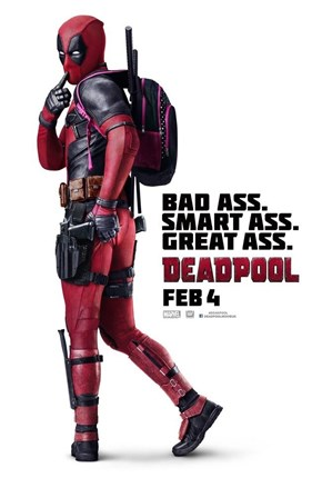 "Deadpool Gets a ""Cheeky"" New Poster"