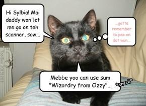 Ozzy Sends His Wizard Power to Sylvia