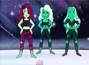 Tourmaline and Emerald's fusion ~ Malachite