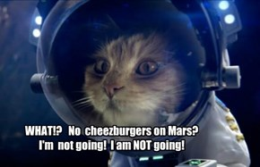 No beer on Mars? I'm not going either!