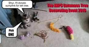 The KKPS Catsmass Tree Decorating Event 2016