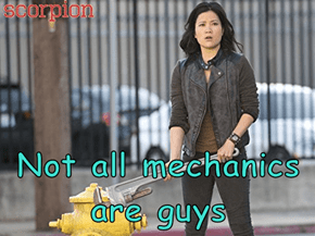 Not all mechanics are guys