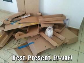 Best. Present. Ev-var!