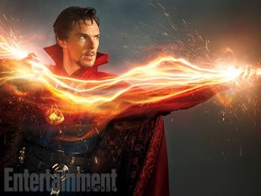 Here's Your First Look at Benedict Cumberbatch as Doctor Strange
