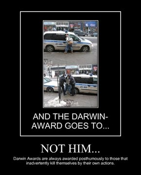 NOT HIM...