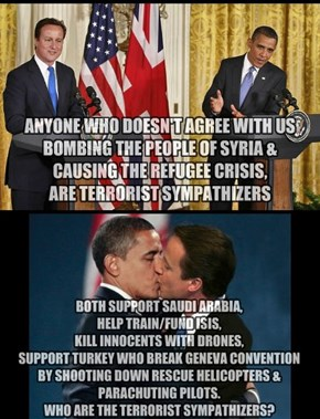 U.S and UK support and fund Terrorists