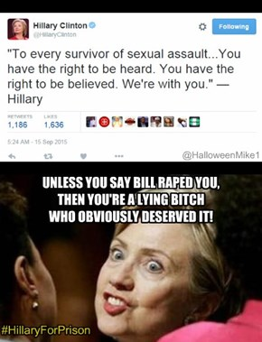 Hillary Clinton Rape Quote