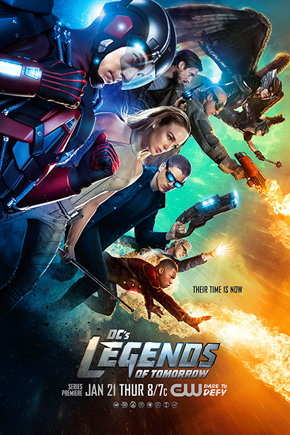 Poster Revealed for DC's Legends of Tomorrow