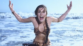 Carrie Fisher Thinks the Great Slave Leia Toy Debate of 2015 is Ridiculous