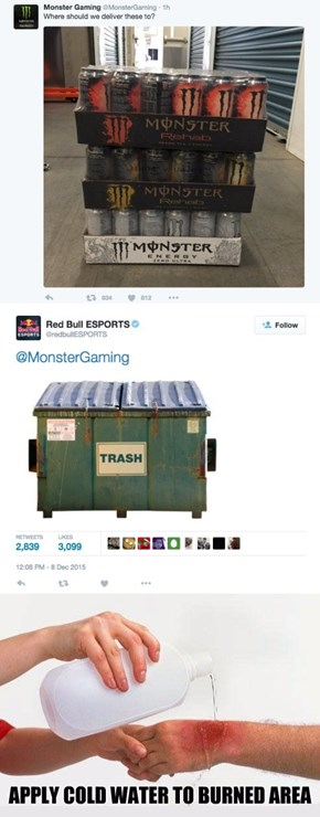 Red Bull ESPORTS Just Rekt Monster Gaming on Twitter