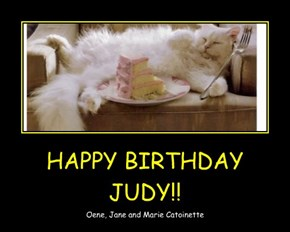 HAPPY BIRTHDAY JUDY!!