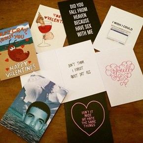 A Valentine Card Must Fit the Recipient Perfectly