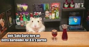 deh 'Sofa Gurlz hire an  extra bartender for O.G's partee