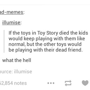 A Dark, Terrifying Pixar Theory From the Bowels of Tumblr