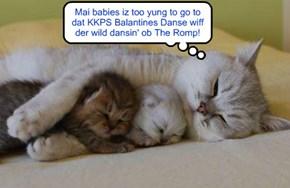 A protective mama kittie..