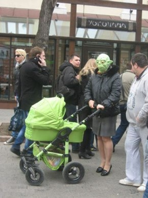 Parenting Priorities: Make Sure Your Mask Matches Your Stroller