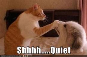 Shhhh.....Quiet