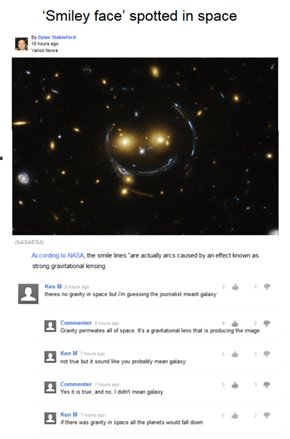 Smiley Face in Space? Say It Ain't So!