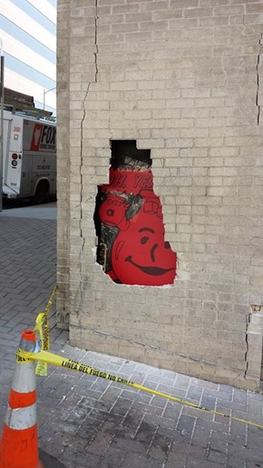 Got a Busted Wall? Try Kool-Aid Man!