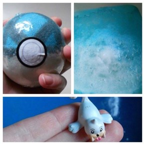 You Can Buy a Bath Bomb With a Surprise Pokémon Inside!