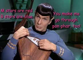 A Valentine from Spock: