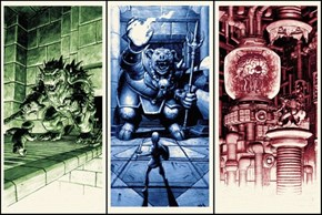 Art of the Day: Kickstarter Project Offers Epic Video Game Boss Fight Prints