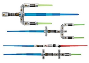 New Star Wars Toys Let You Build Your Own Ridiculous Light Sabers