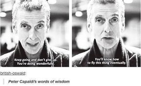 Not Sure If The Doctor or Peter Capaldi