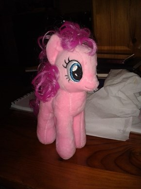 My first ever pony plushie!!!