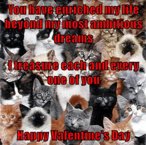 To my cheezpeeps on Valentine's Day from 2kissy2