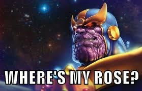WHERE'S MY ROSE?