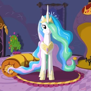 Princess Celestia Has Been Waiting For You