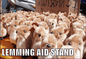 LEMMING AID STAND