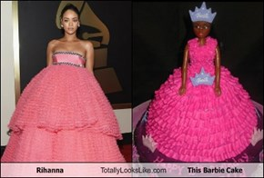 Rihanna Totally Looks Like This Barbie Cake