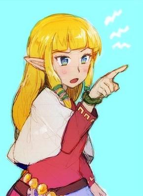 Zelda Sketch
