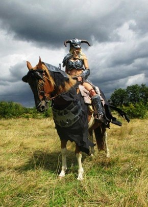 Don't Forget Your Horse's Cosplay!