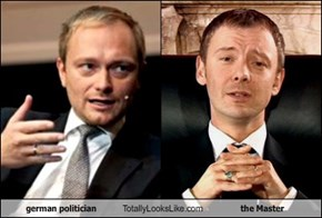 german politician Totally Looks Like the Master