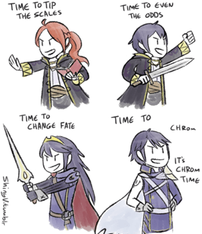 Chrom Needs a Battle Quote