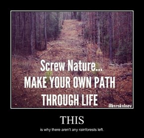 Don't Screw Nature Please
