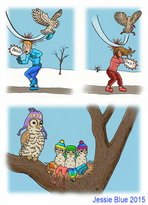 Some Winter Fashions Can Be a Hoot